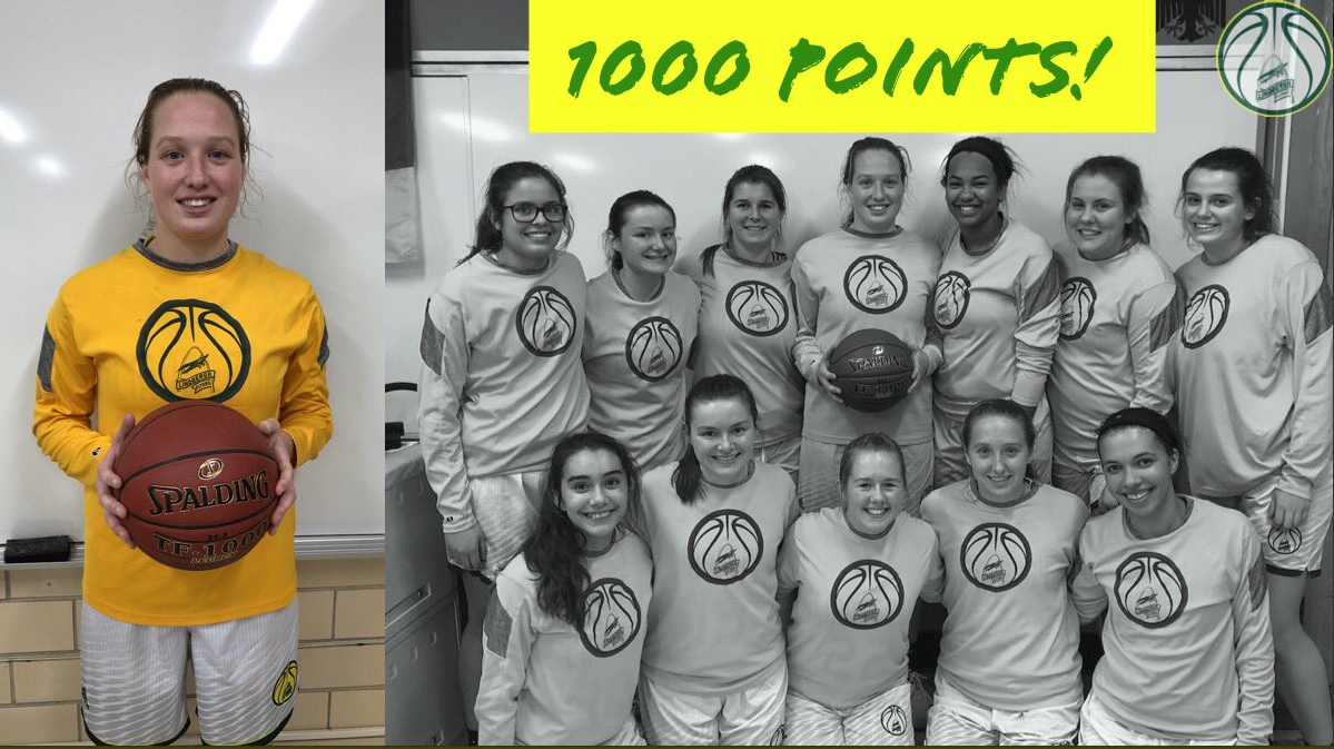 Congratulations to Julie Baudendistel for reaching 1000 points!