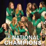 JV Poms: 2019 UDA National Champions in JV Kick!