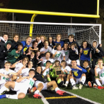Boys Soccer captured their first district title in 21 years!