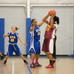 Advanced Technology Academy Girls Middle School Basketball falls to Commonwealth Academy 33-15