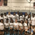 Volleyball Team Battles Canton Prep