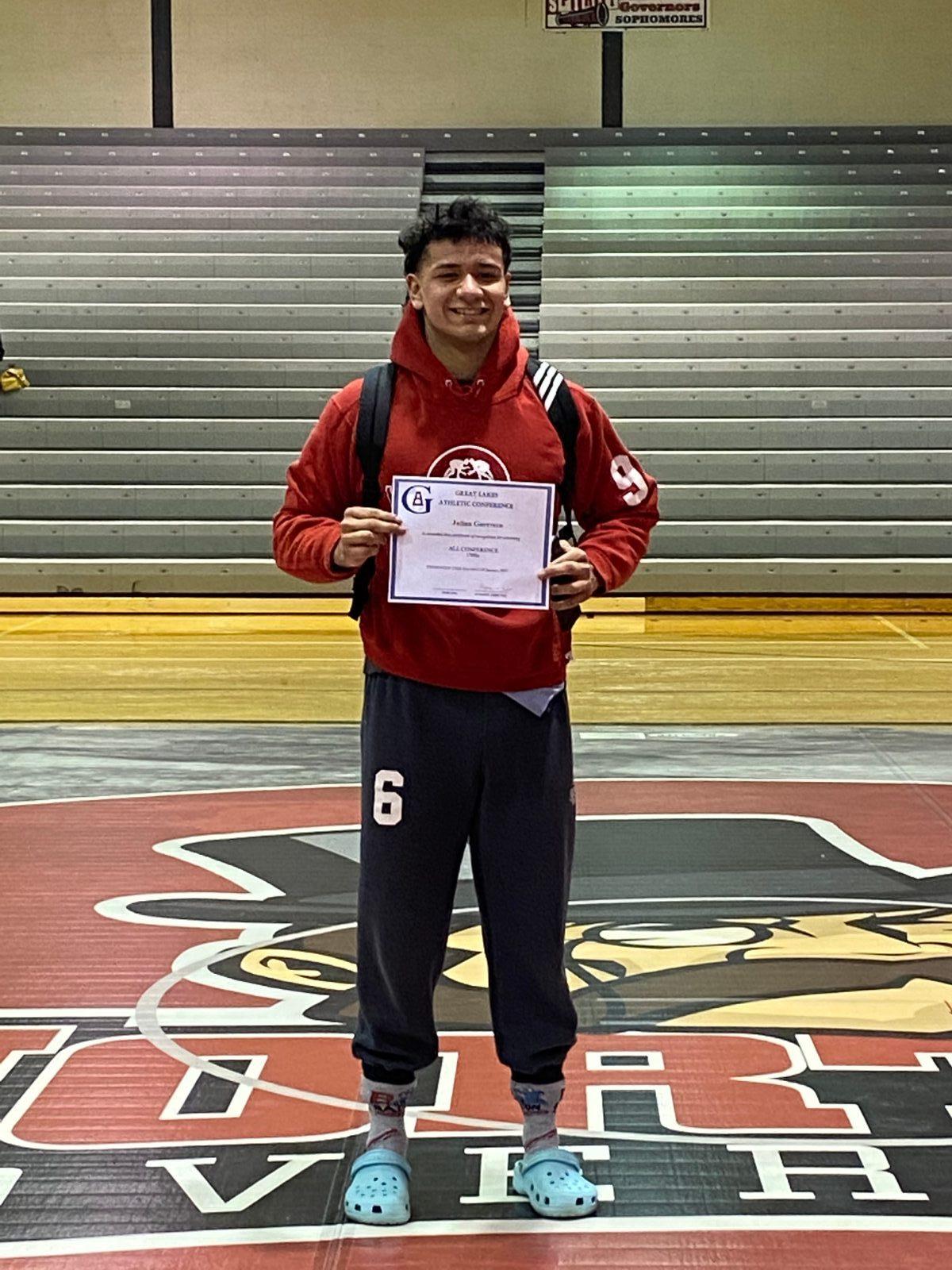 Julian Guerrero GLAC Conference Champion!