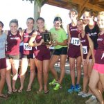 Watervliet High School Cross Country Varsity Girls finishes 1st place at Hartford Teske Memorial
