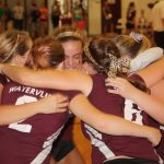 Watervliet High School Volleyball JV beats Bloomingdale High School 2-0