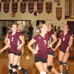 Watervliet High School Volleyball JV beats Dowagiac Union High School 2-1
