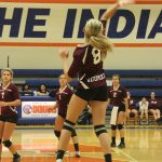 Watervliet High School Volleyball Varsity falls to Saugatuck High School 1-3