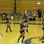 Watervliet High School Volleyball Varsity falls to Hartford High School 0-3