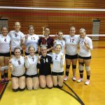 Watervliet High School Volleyball JV finishes 1st place at Bangor JV Volleyball Invitational
