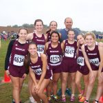 Watervliet High School Cross Country Varsity Girls finishes 18th place at Portage Inv.