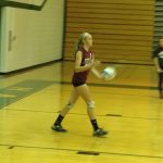 Watervliet High School Volleyball 8th Grade Girls Gold beats Hartford High School 4-1