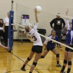 Watervliet High School Volleyball Varsity falls to Lawton High School 1-2