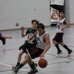 Watervliet High School Basketball 7th Grade Boys Blue beats Hartford High School 25-15
