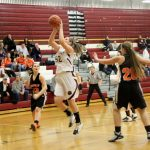 Watervliet High School Basketball Varsity Girls falls to Fennville High School 36-39