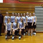 Watervliet High School Basketball 8th Grade Girls Gold beats Hartford High School 15-11
