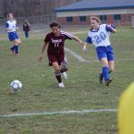 Watervliet High School Soccer Varsity Girls beats New Buffalo High School 2-0