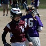 Watervliet High School Softball JV beats South Haven High School 20-0