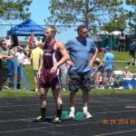"""Watervliet High School Track/Field Varsity Boys finishes 6th place at THE MITCA """"Team State TRACK meet"""