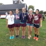 Watervliet High School Cross Country Varsity Girls finishes 1st place at Red Bud Invitational at Buchanan