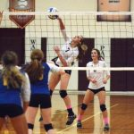 Watervliet High School Varsity Volleyball beat Blue Devils 3-1