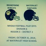 Panthers Qualify for MHSAA Play Offs – Host October 31