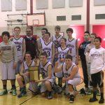 Watervliet High School 8th Grade Basketball beat Raiders 28-25