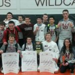 Watervliet High School Coed Varsity Wrestling beat Wildcats 234-213