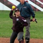 Watervliet High School Varsity Softball beat Gobles High School 12-5