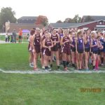Watervliet High School Girls Varsity Cross Country finishes 6th place