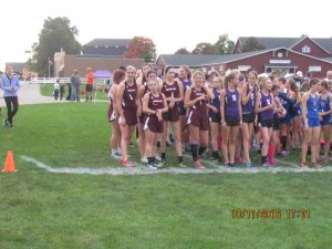 Girls XC SAC 2016