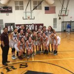 Girls Varsity Basketball Capture SAC Lakeshore Divisional Championship with  47-28 Victory over Bangor