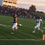 Watervliet High School Varsity Football beat Glen Lake High School 52-26