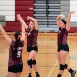 Watervliet High School Girls Varsity Volleyball beat Galesburg-Augusta High School 3-2
