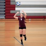 Watervliet High School Girls Varsity Volleyball beat Gobles High School 3-1