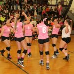 Watervliet High School Girls Varsity Volleyball beat Hartford High School 3-0