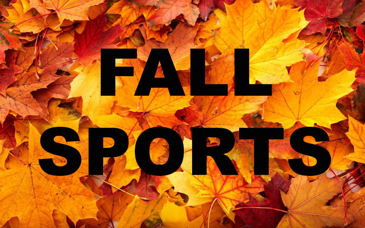 Fall Sports Schedules Available Now