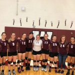 Girls Varsity Volleyball beats Fennville 3-0 as they honor 9 Seniors