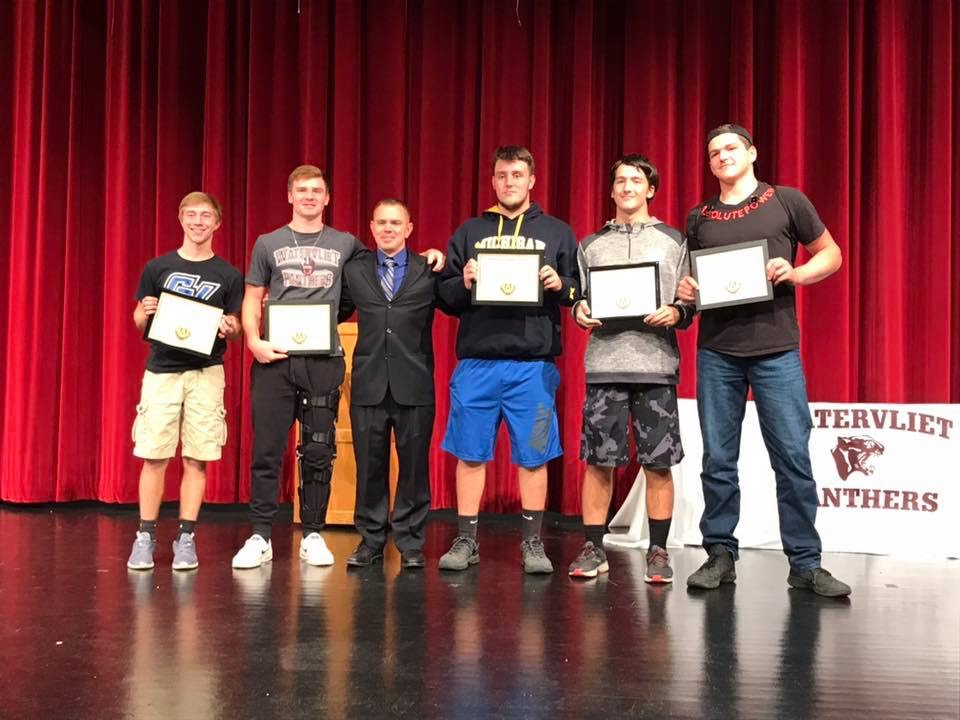 Panther Football Honorees