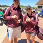 Lanning and McKinney earn All-Division golf honors