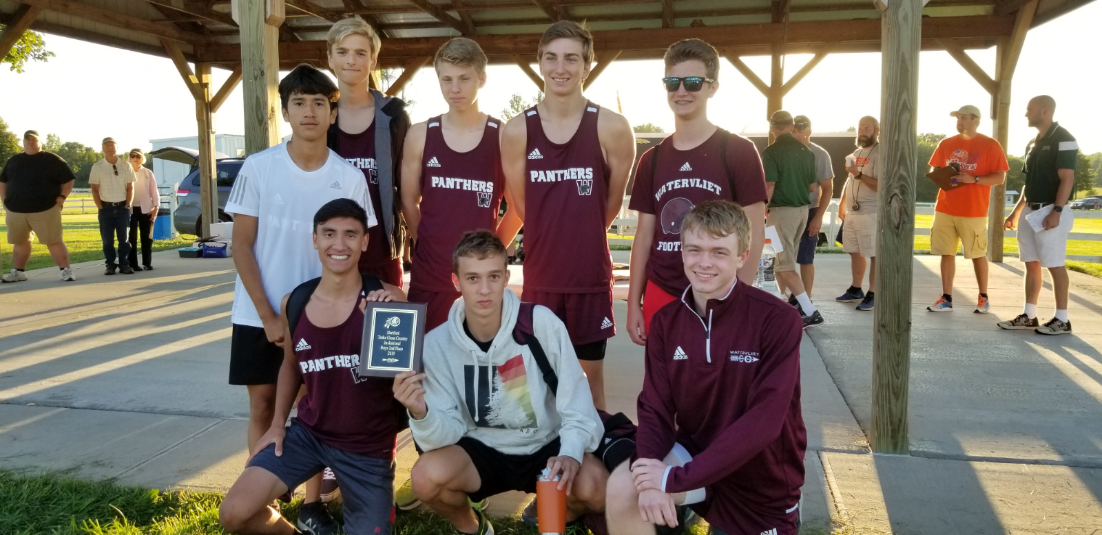 Boys Cross Country Finishes 2nd at 12-Team Teske Invitational