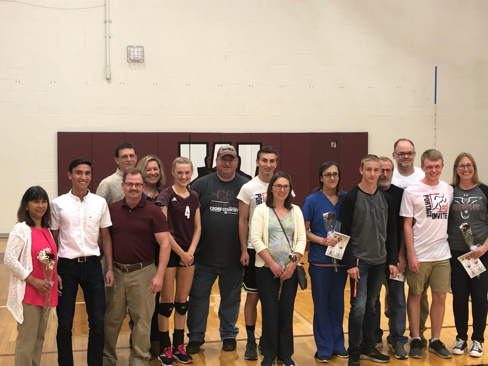 Panther Cross Country and Volleyball Teams Celebrate Senior Night