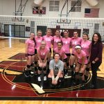 Girls Varsity Volleyball beats Hartford 3 – 1