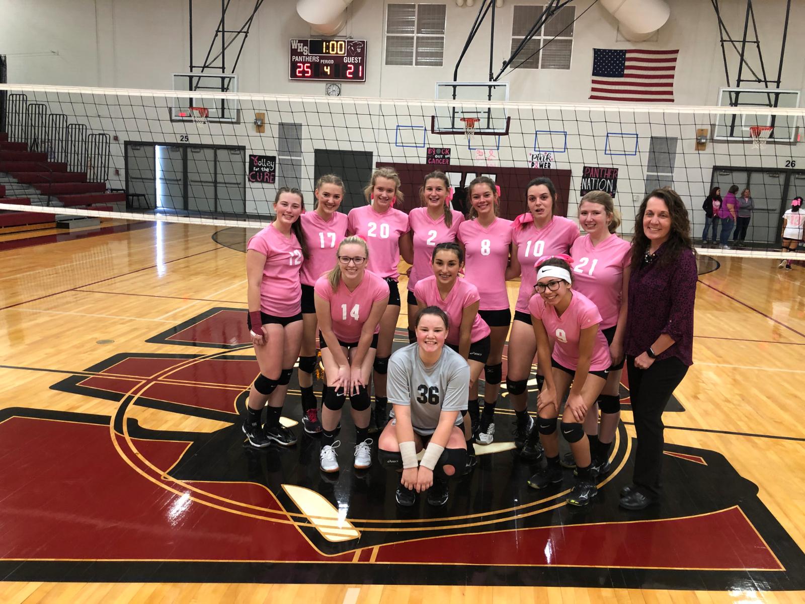 Girls Varsity Volleyball beats Hartford 3 – 1
