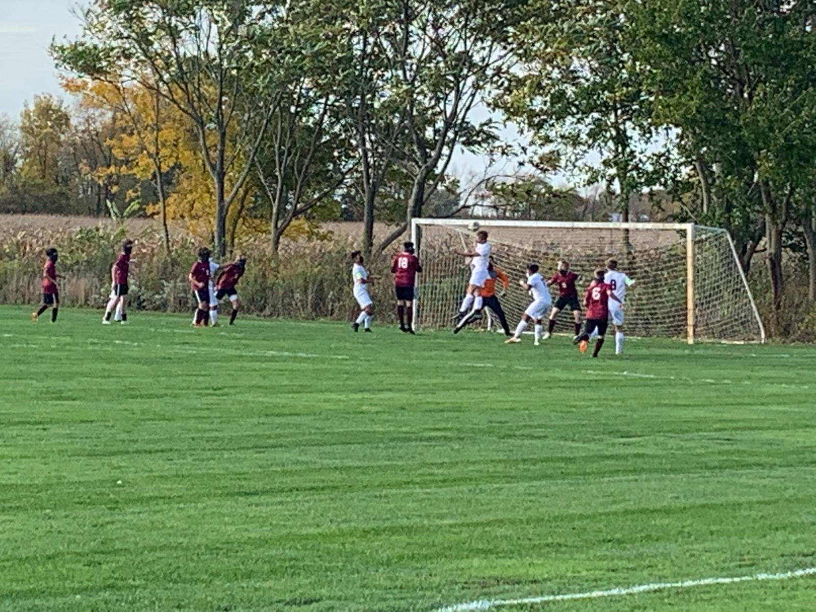 Boys Varsity Soccer beats Buchanan 8 – 0