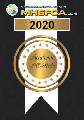 Don Smith and Isaiah Yazel named to Academic All-State Football Team