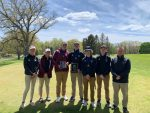Varsity Golf finishes 1st place at Lawton Invitional at Lake Cora