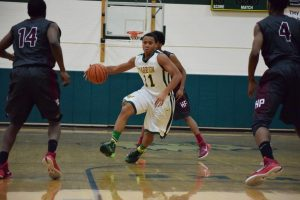 Varsity Boys Basketball vs. Hazel Park – 1/29/15