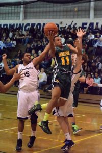 Varsity Boys Basketball at Farmington – 2/6/15