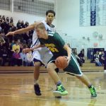 Harrison High School Boys Varsity Basketball beat Ferndale High School 63-57