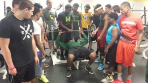 Football Lift-A-Thon 2015