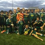 Harrison High School Boys Junior Varsity Soccer beat Garden City High School 5-3